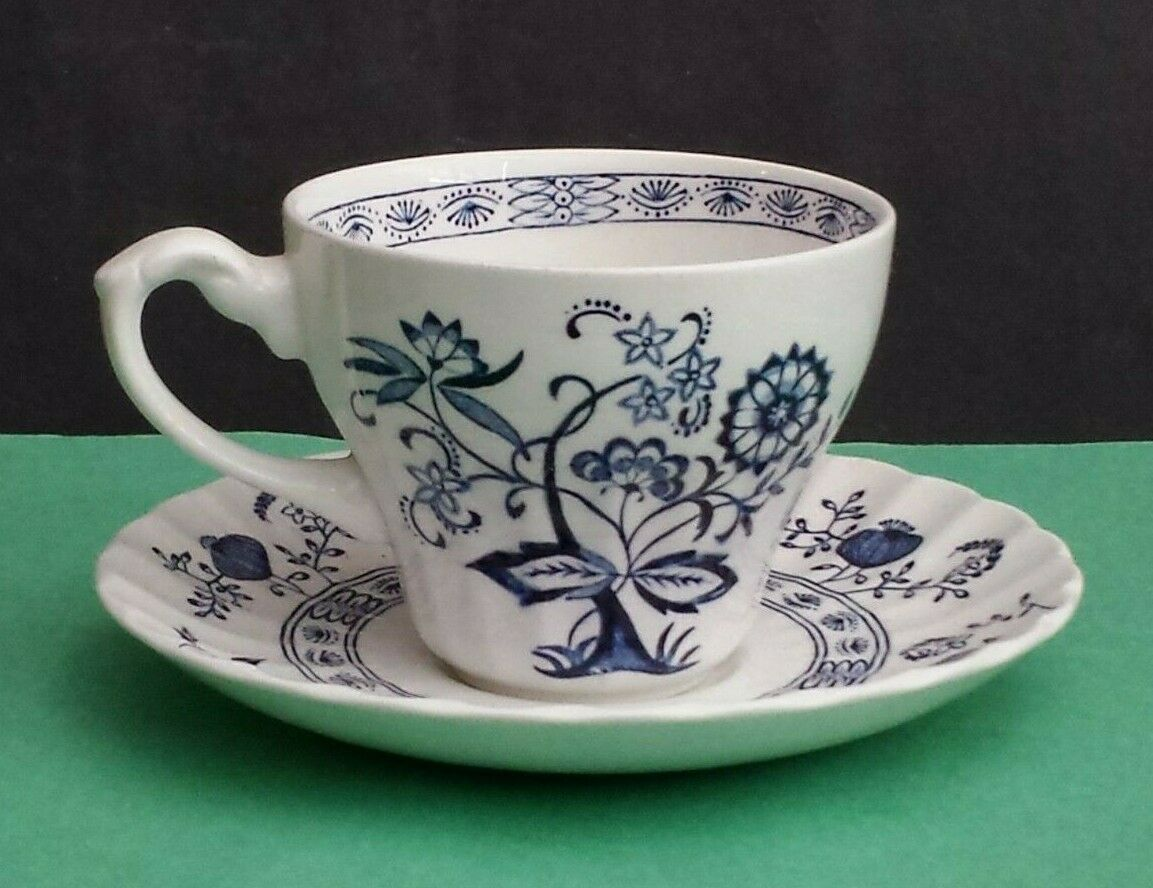 Details about J. & G. Meakin England Blue Nordic Coffee