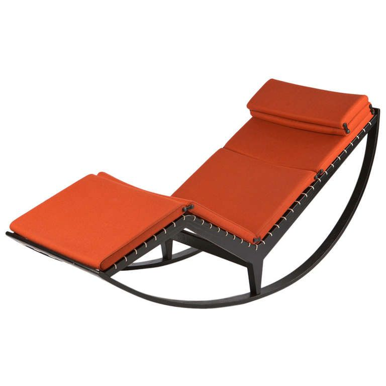 Rocking Chaise Longue By Franco Albini 1stdibs Com Antique Rocking Chairs Rocking Chair Chaise Longue