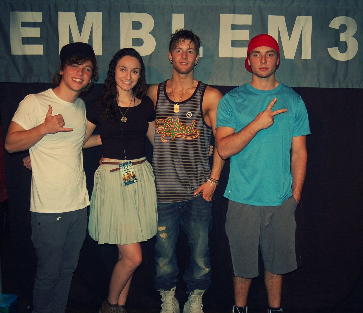 Asdfghjkl my meet and greet pic with the one and only emblem3 asdfghjkl my meet and greet pic with the one and only emblem3 m4hsunfo