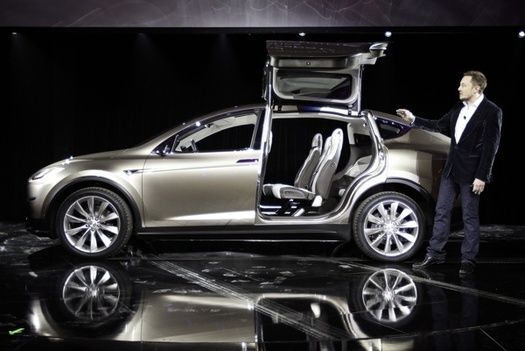 Tesla S Luxury Electric Suv Is Faster Than A Porsche Tesla Model X Tesla Motors Tesla Suv