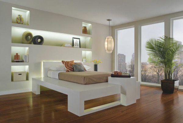 Bildergebnis für schlafzimmer indirekte beleuchtung Architektur