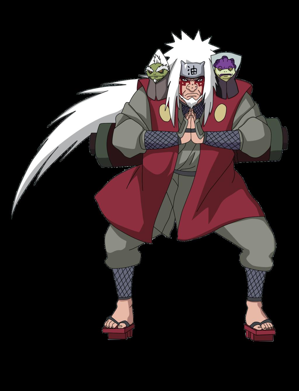 Jiraiya Sage Mode Kakashi Naruto Jiraya Naruto