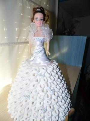 muñeca vestido de novia de papel | muñecas | paper dolls, paper y dolls