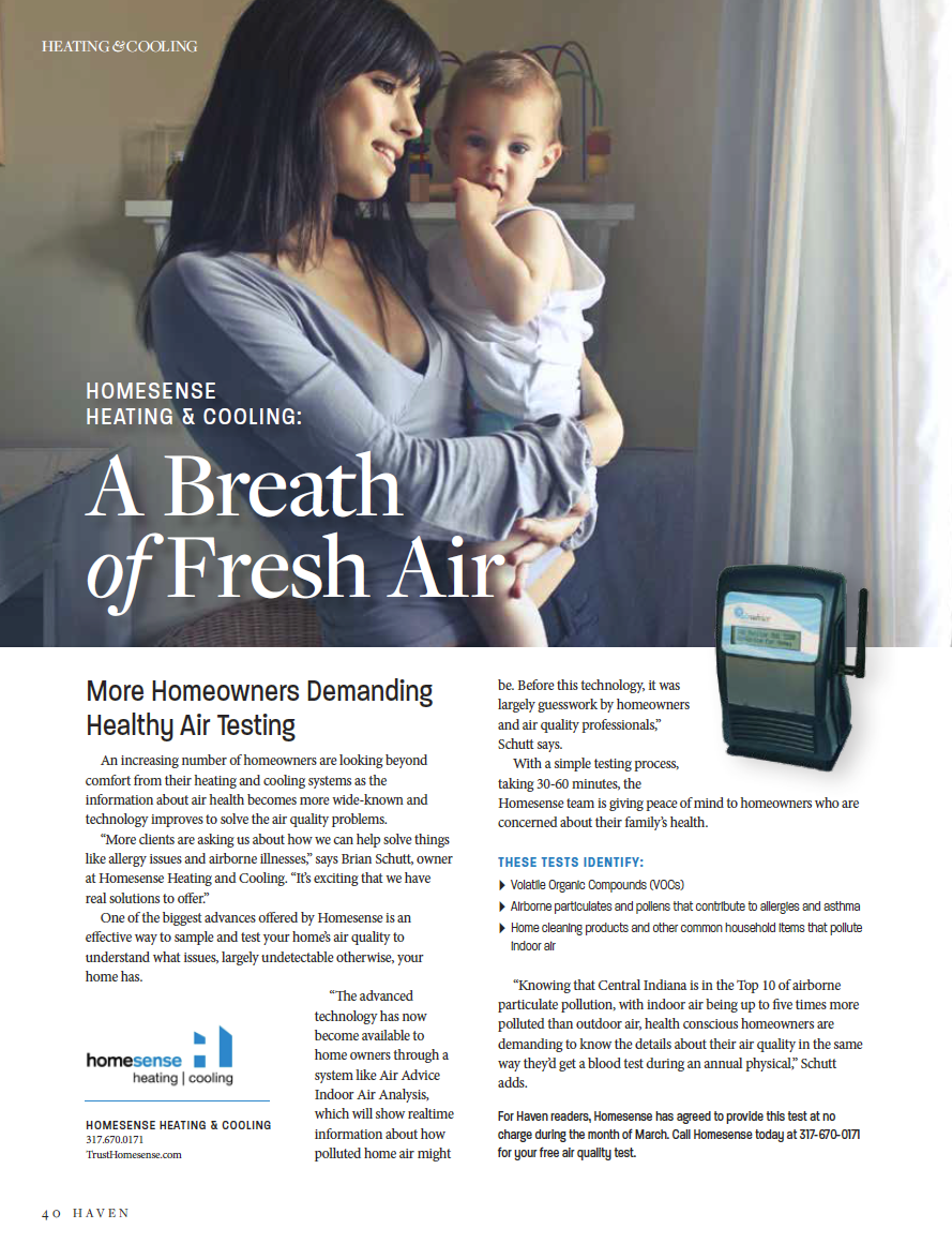 Homesense Heating Cooling A Breath Of Fresh Air Breath Of Fresh Air Homesense Heating And Cooling