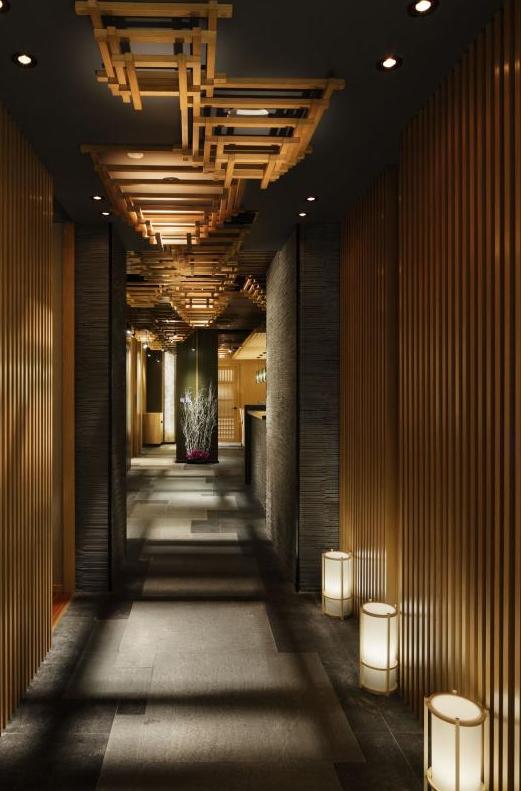 一蔵 Designer Norio Ogawa 廊下のデザイン デザインホテル