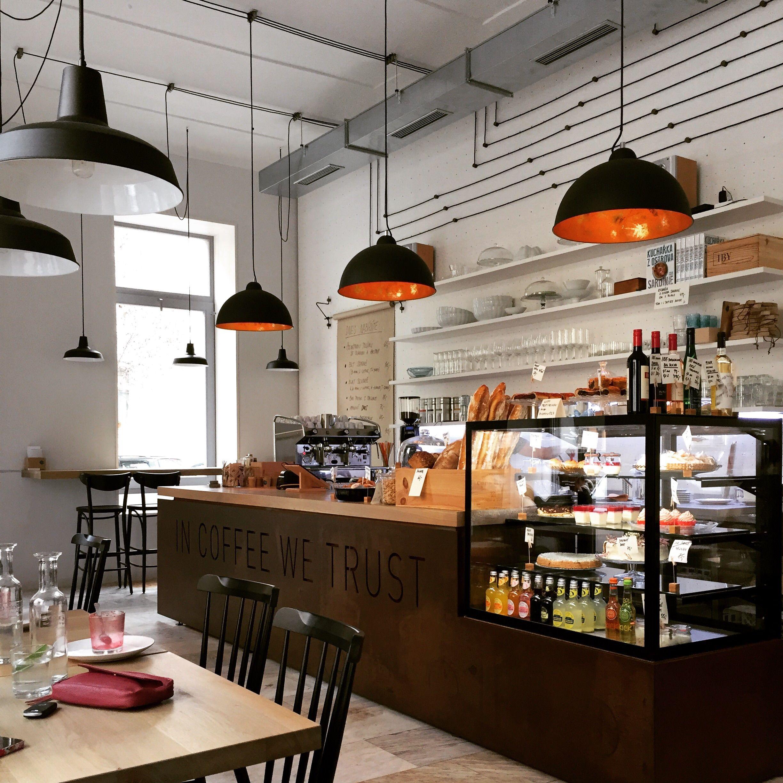 Bistro Proti Proudu Restaurant Prague Czech Republic Design