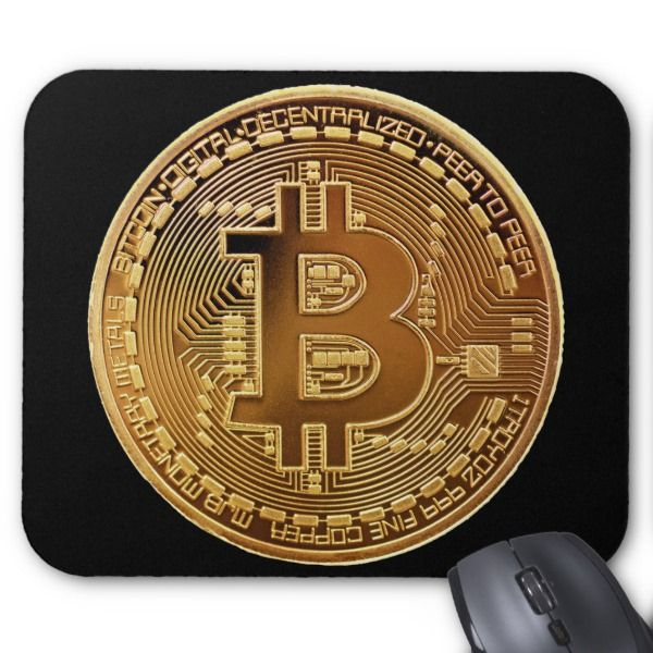 original bitcoin symbol logo graph mouse pad custom office supplies