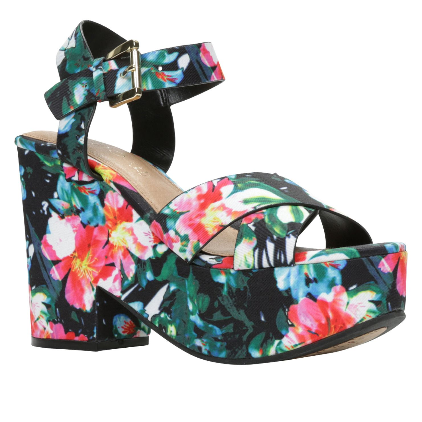 61d6f87f2601 These floral wedges are comfortable and facilitate your hunt for the next  best act.