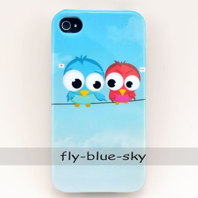 Owl Pattern Silicone Soft TPU Back Case Cover for iPhone 4G 5g 5c Moto Nokia 520 | eBay