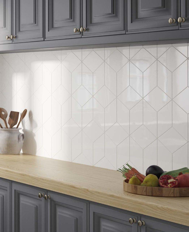 Rhombus Mix La Nova Tile Importers Modern Kitchen Tiles Kitchen Backsplash Designs Kitchen Wall Tiles