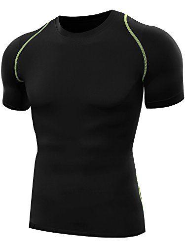 2ab029b6c58 Neleus Men s Dry Fit Base Layer Compression T Shirt 3 Pack ...
