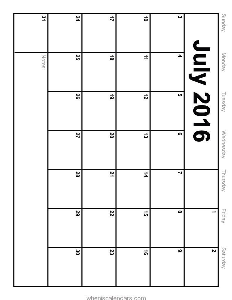 july 2016 calendar monday start july 2016 calendar with holidays