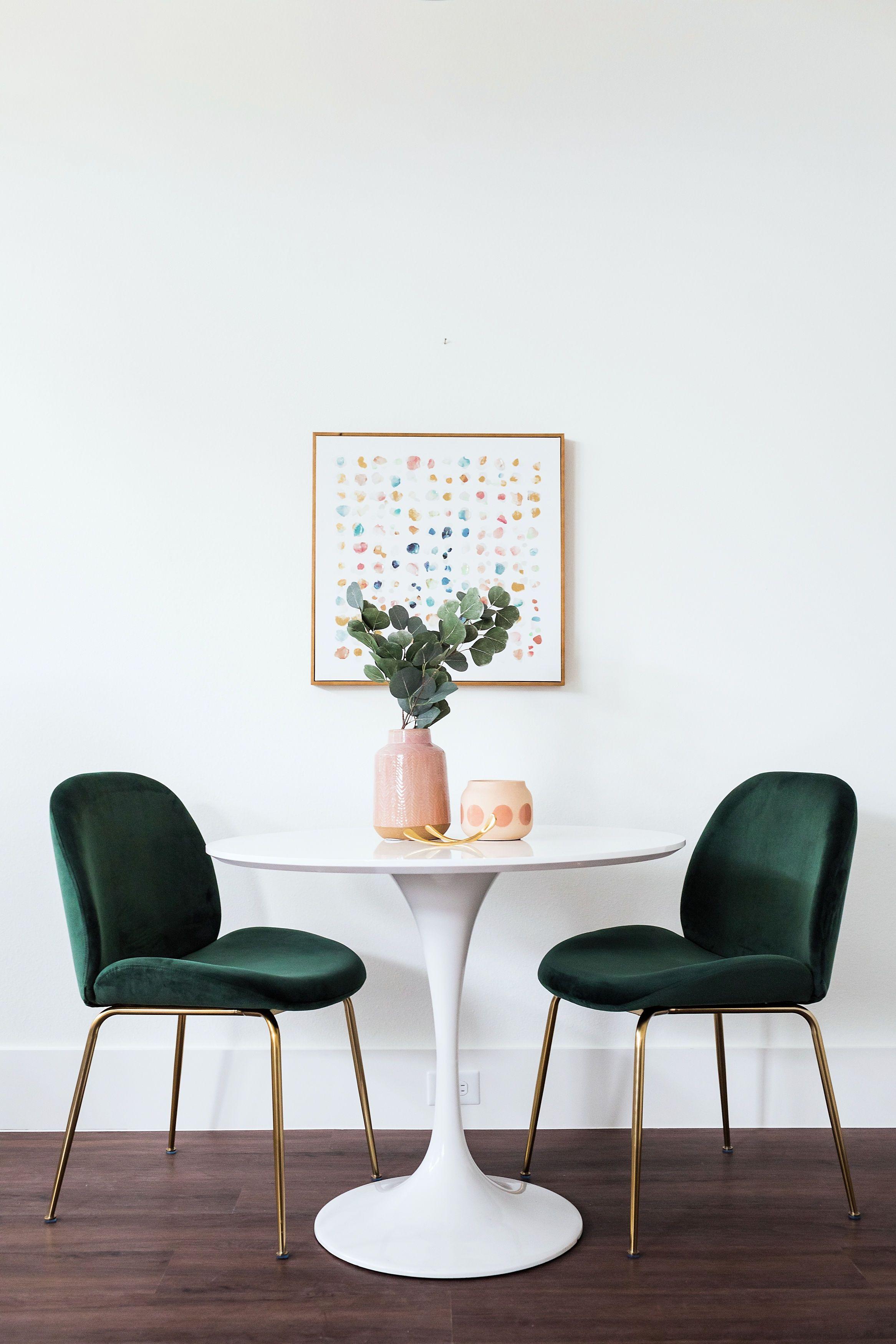 Verona Dining Chair Emerald Set Of 2 Edloe Finch Furniture Co