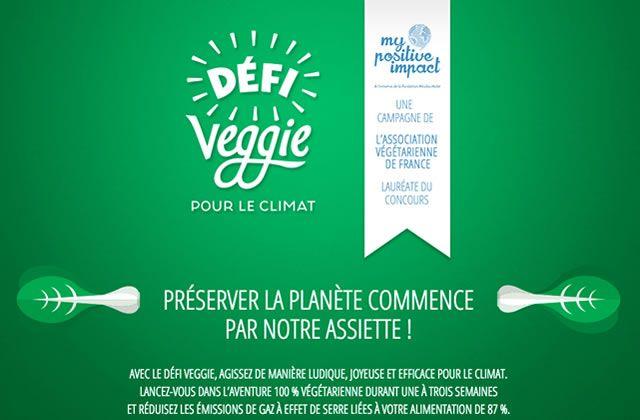 Le Défi Veggie, une semaine 100% végé pour le climat