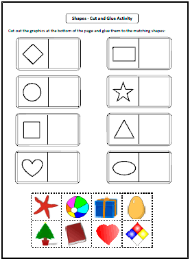 Shapes Worksheets And Charts Shapes Worksheet Kindergarten Shapes Worksheets Shapes Lessons
