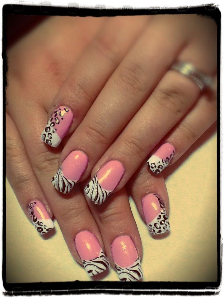 Nail animal print   nails   Pinterest   Creative nails, Nail nail ...