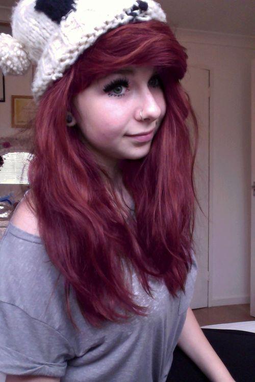 תמונות לפרופילxd טאמבלר נדיר עיר הספרים ספר מאת סאםם Hair Styles Natural Red Hair Beautiful Long Hair