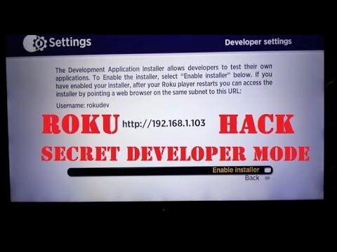 Roku Tricks Hack: How To Unlock Developer Apps Install Mode