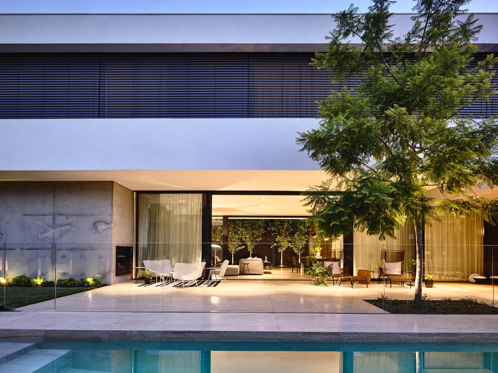 Toorak Residence is a private residence designed