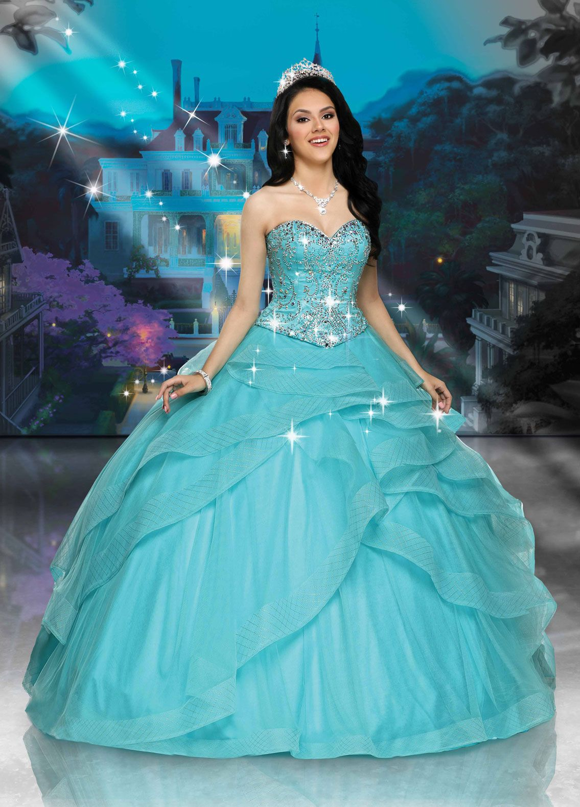Tiana | Disney Royal Ball | quinceanera | Pinterest | Tiana disney ...