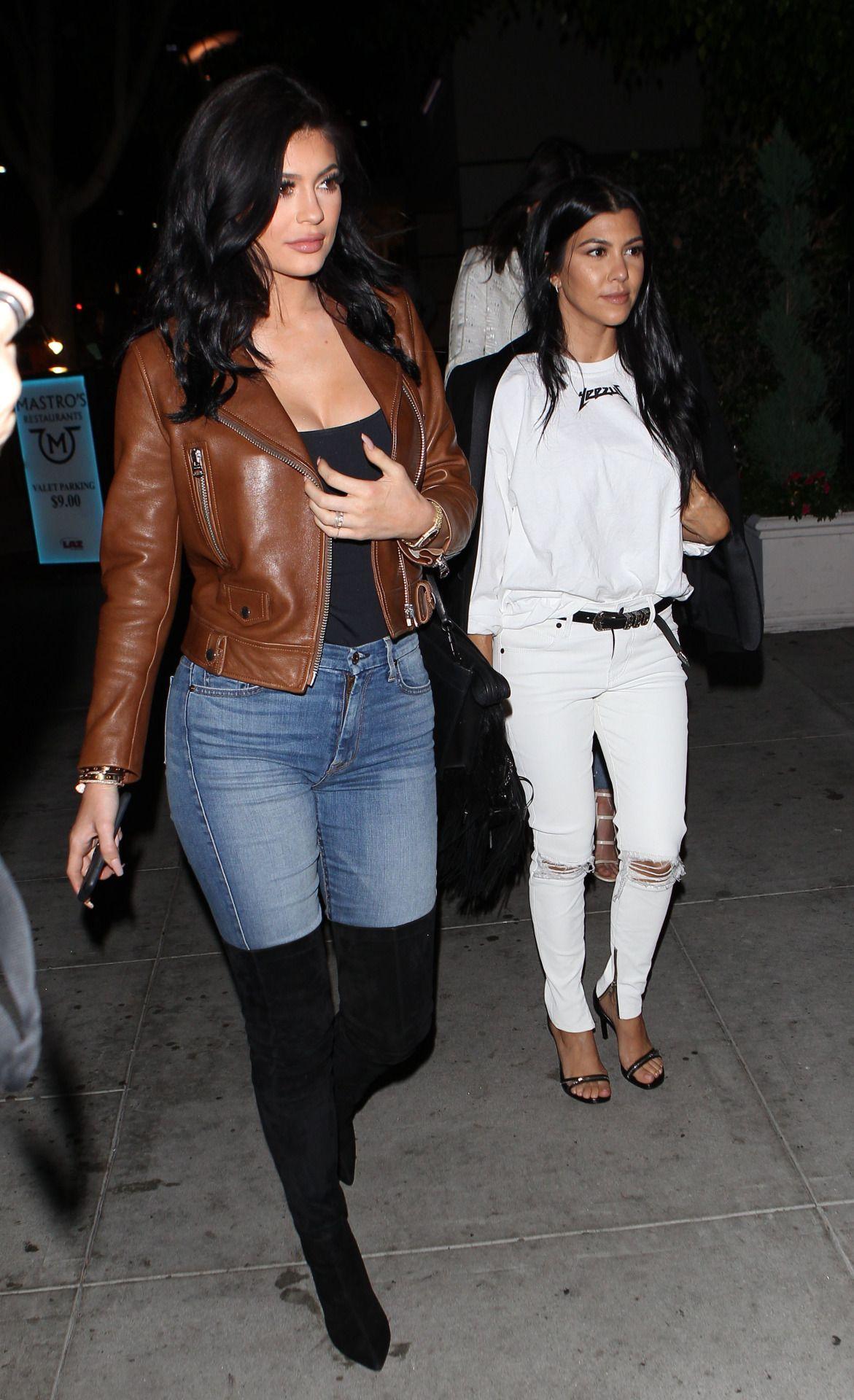 Jenner News Fashion Leather Jackets Women Leather Jacket [ 1920 x 1171 Pixel ]