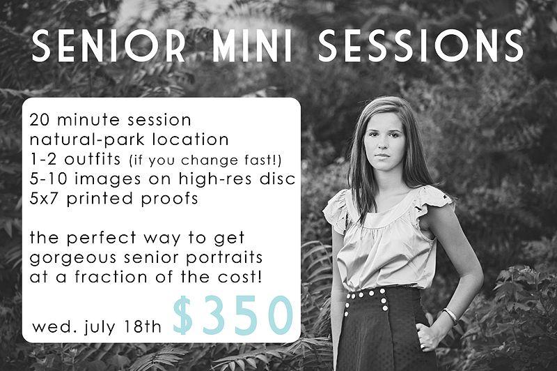 senior mini session ad web