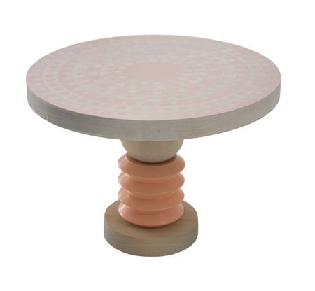 Varm Country Basic no 2 Cake plate in peach