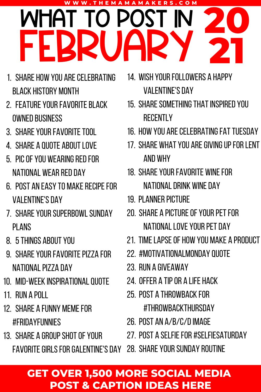 Social Media Content Creation Guide Instagram Post Ideas Etsy In 2021 Social Media Content Calendar Social Media Planner Social Media Content
