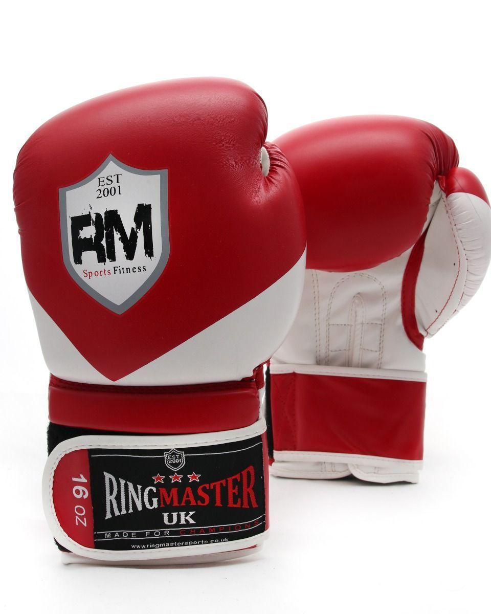 Ringmasteruk Boxing Gloves Victory Series Red Mma Training Equipment Mma Training Boxing Equipment