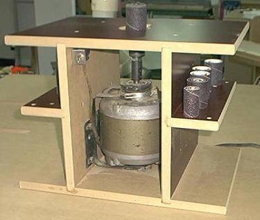ponceuse tambour verticale shopmade spindle sander menuiserie atelier et outillage. Black Bedroom Furniture Sets. Home Design Ideas