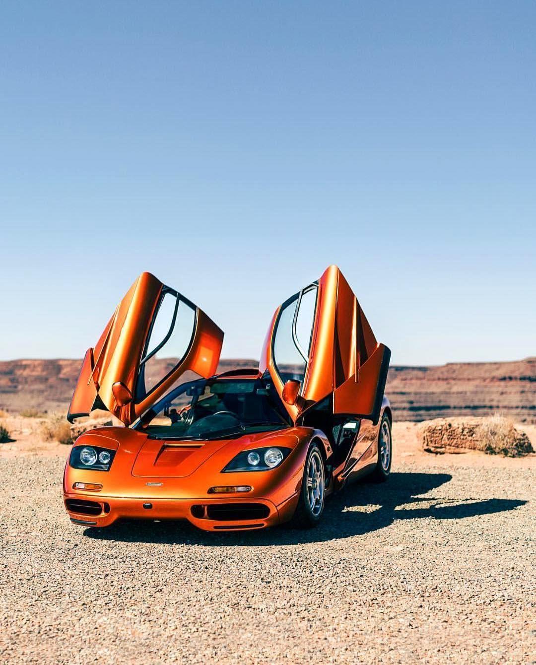 Burnt Orange Mclaren F1 Zachbrehl Super Cars Mclaren F1 Mclaren