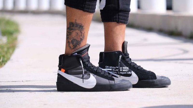 Off-White x Nike Blazer Black SPOOKY PACK - Where To Buy ...
