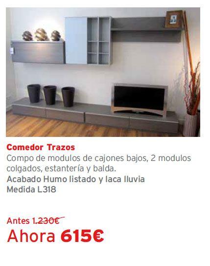 #Liquidación de exposiciones de muebles Kibuc. Tienda Kibuc Albufera, Alfafar. Comedor Trazos
