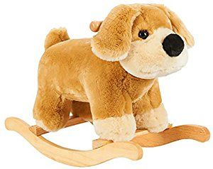 Amazon Com Fao Schwarz Plush Rocking Puppy Toys Games Puppy