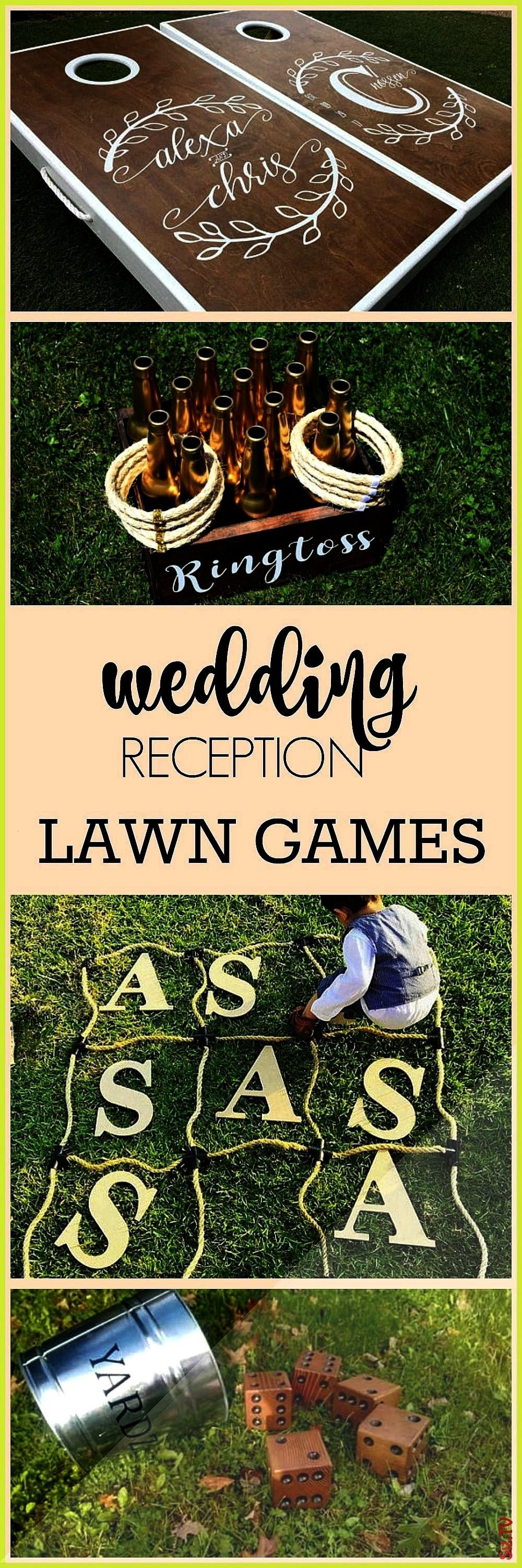 outdoor wedding family reunion family game night outdoor game night or outdoor party What a great way to entertain your wedding gu Perfect for an outdoor wedding family r...