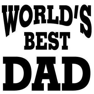 c-family-0001 - Worlds Best Dad | etching | Pinterest ...