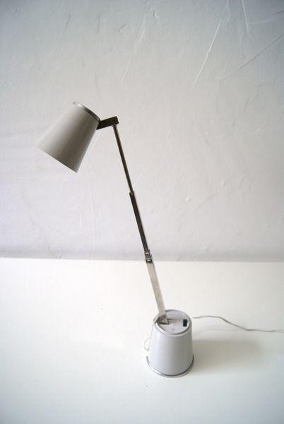 Original Lampette Tischlampe grau von mele-pele auf DaWanda.com
