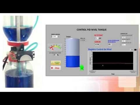 Control PID Nivel de Agua con LabView y Arduino - Universidad de