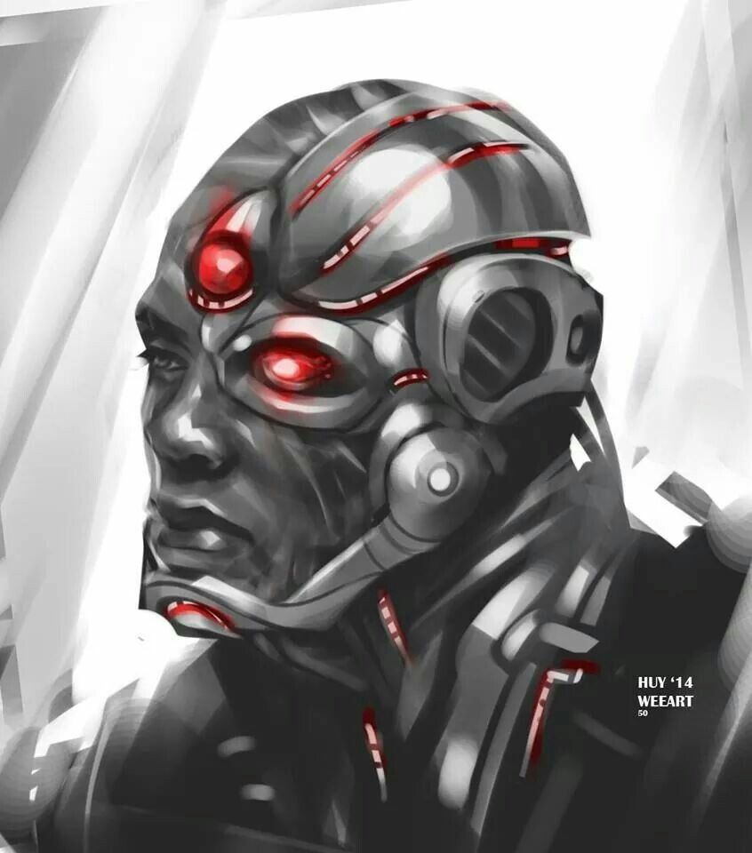 """Cyborg By Huy """"Wee"""" Dinh"""