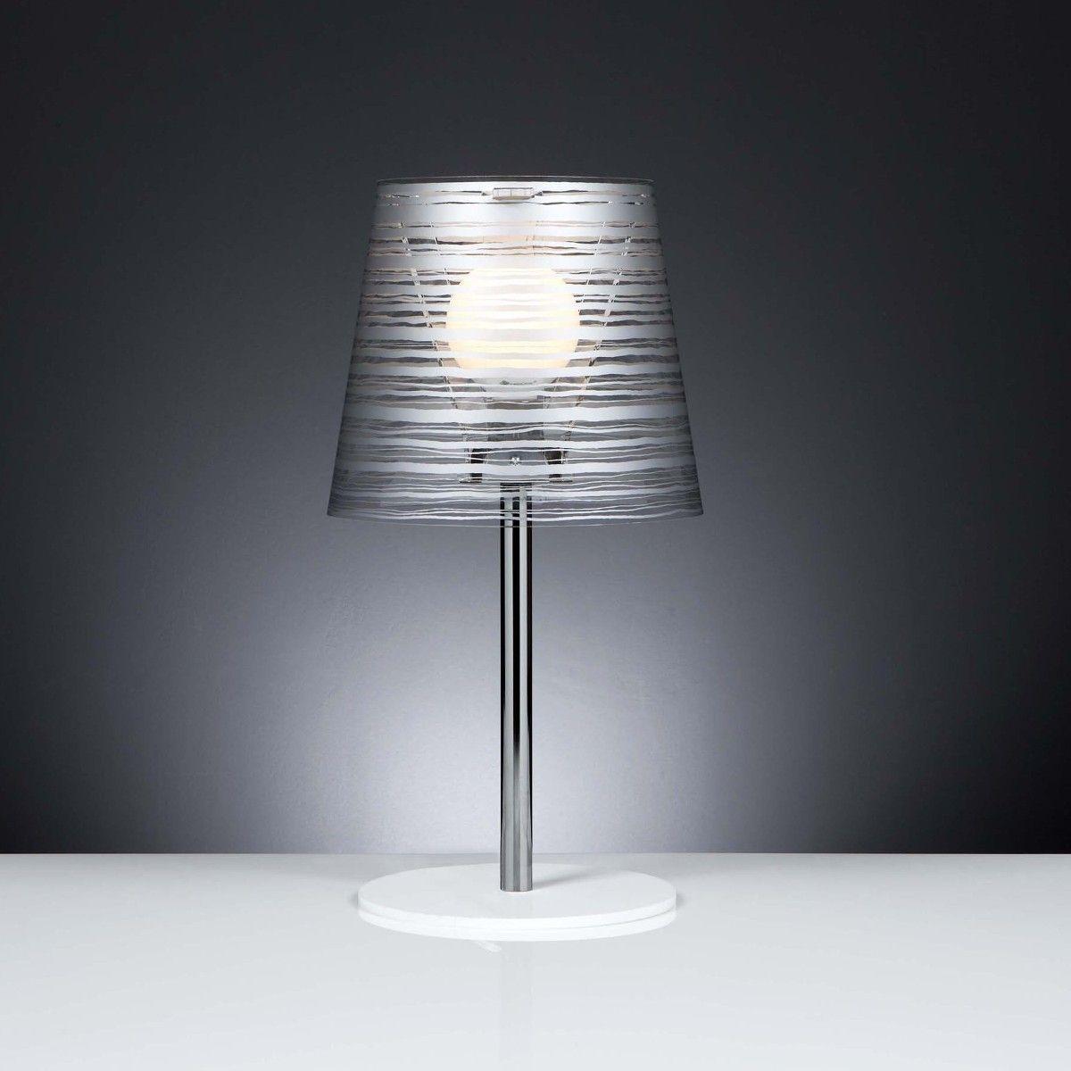Lampada Da Comodino Argento.Lampada Da Tavolo Pixi Design Bianco Nero Oro Argento Un Lampada
