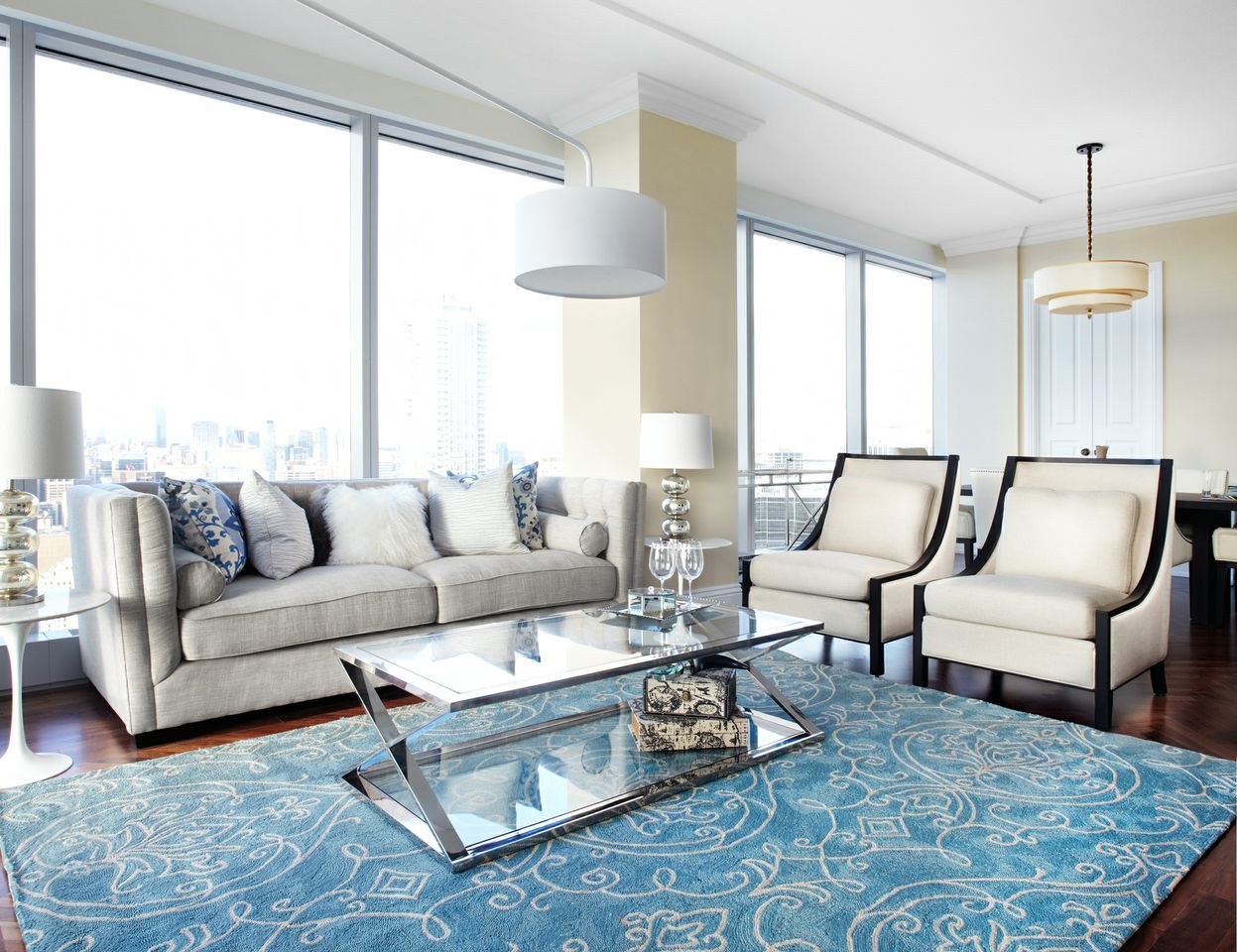 RoomReveal - The Ritz, Condo- Living Space, Toronto by Lux Design ...