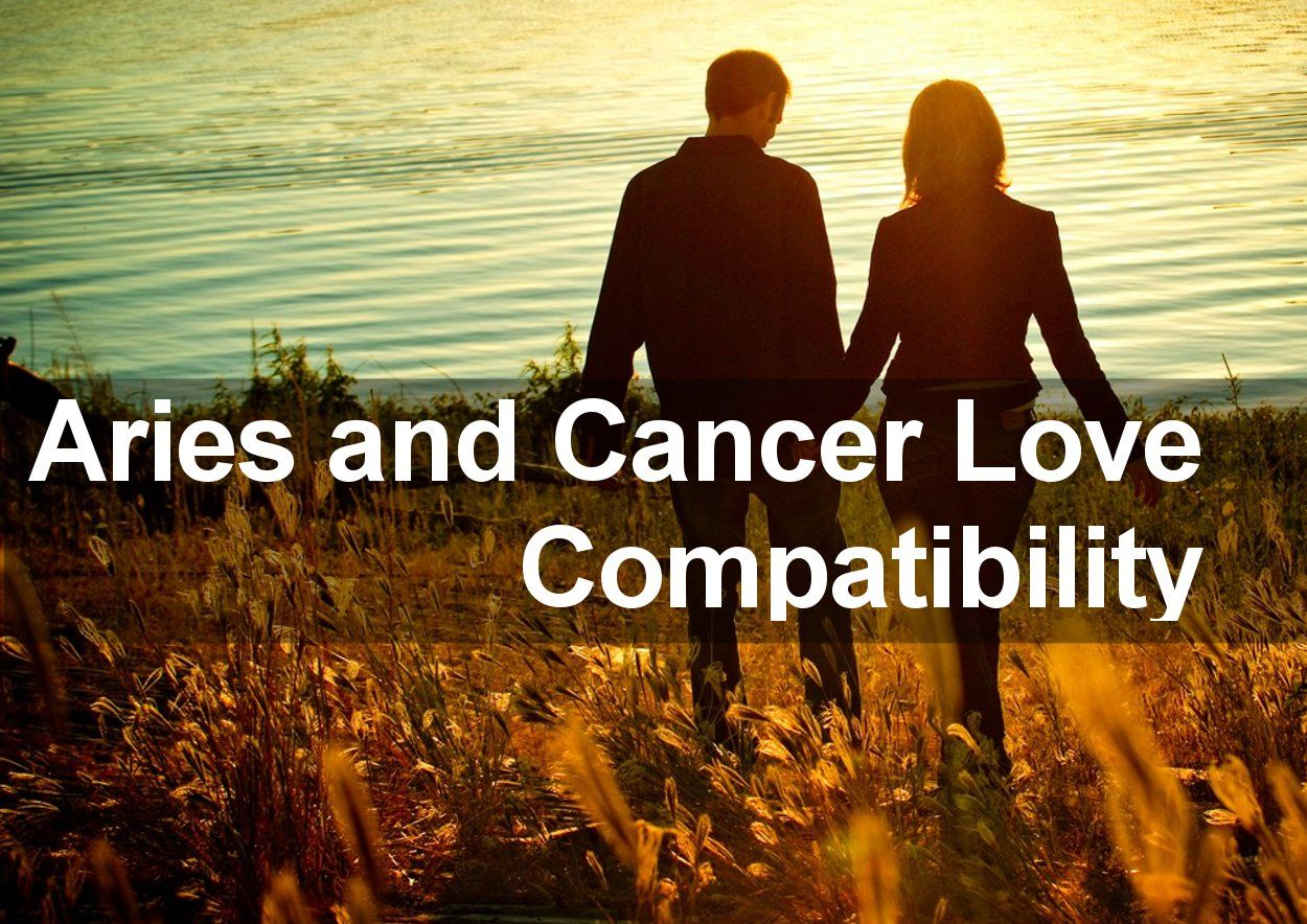 Dating aries cancer man picture