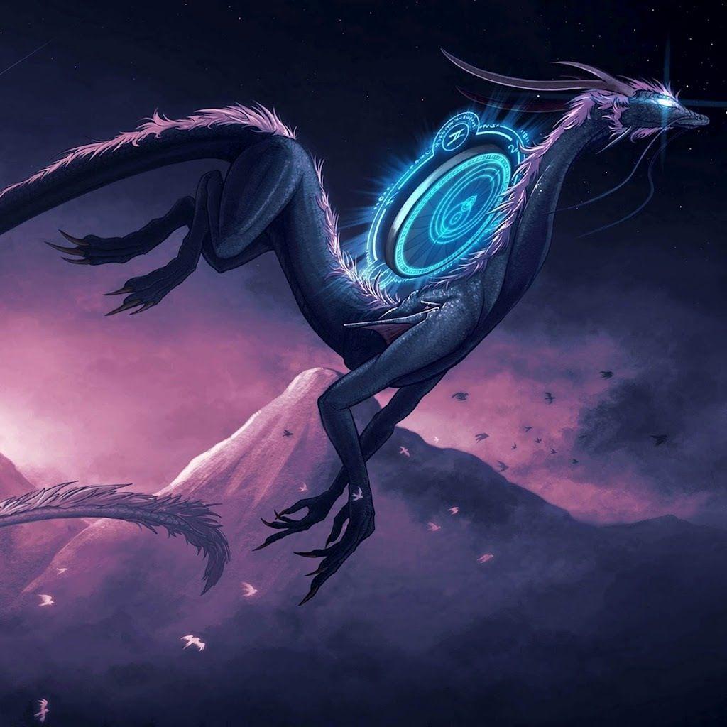 Alien dragon creature concept art dragon design dragon