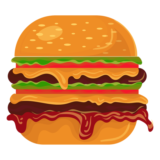 Double burger icon AD , PAID, Ad, icon, burger,