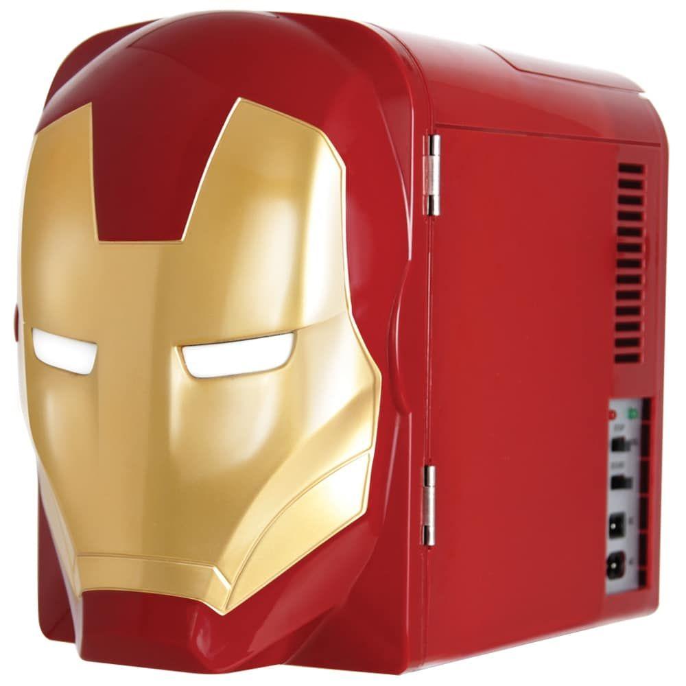 Iron Man Dual Alarm Clock Speaker System MR-M23