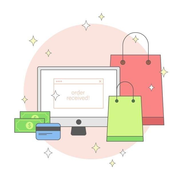 Online Shopping Order Received Vector Design Online Shop Shopping Png And Vector With Transparent Background For Free Download In 2021 Logo Online Shop Shopping Online Logo Vector Design