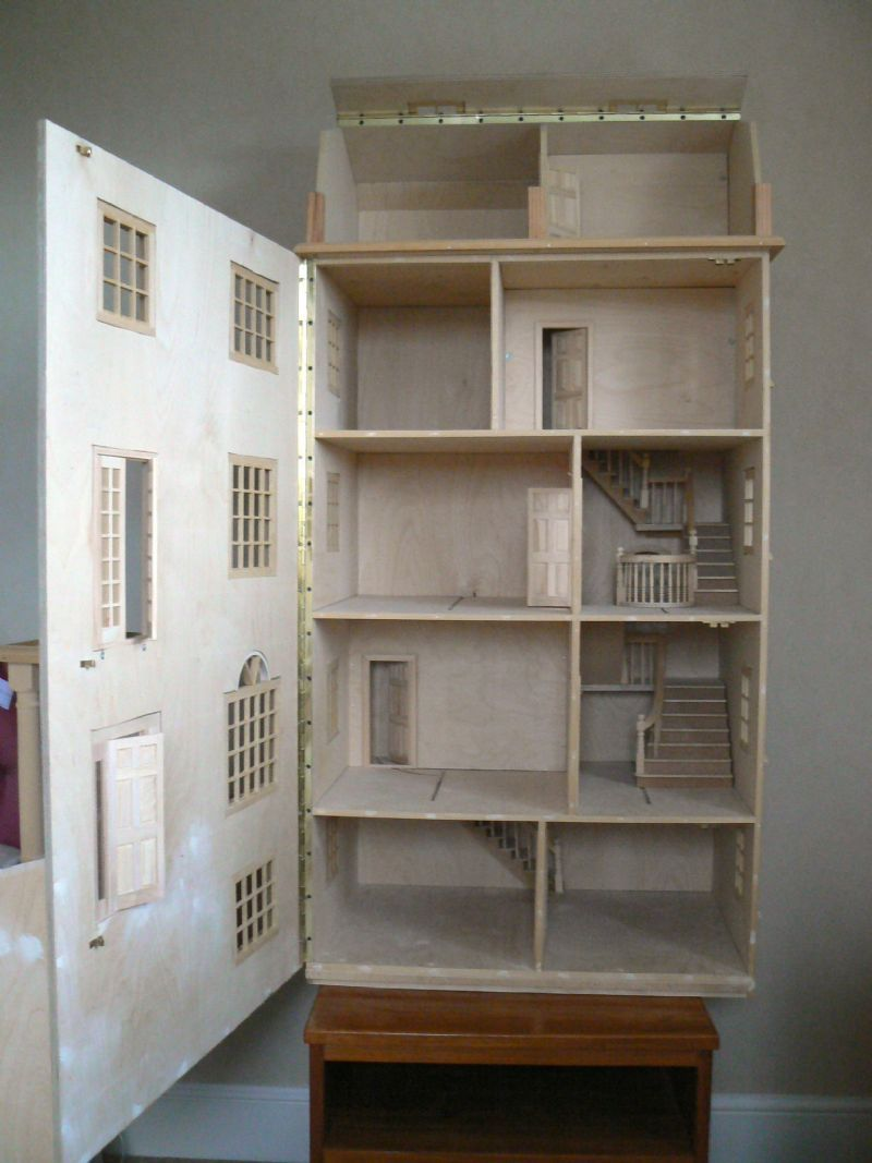 Superior For Sale   Georgian Terraced House (undecorated)   The Dolls House Exchange