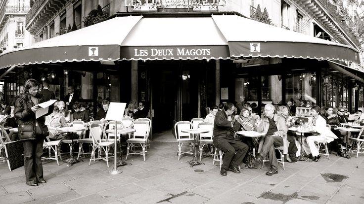 Resultado de imagen para Les Deux Magots jorge amado