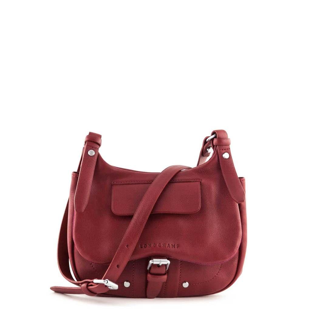 Longchamp Carmine Leather Small Balzane Crossbody Bag - LOVE that BAG - Preowned  Authentic Designer Handbags da4cded91a808