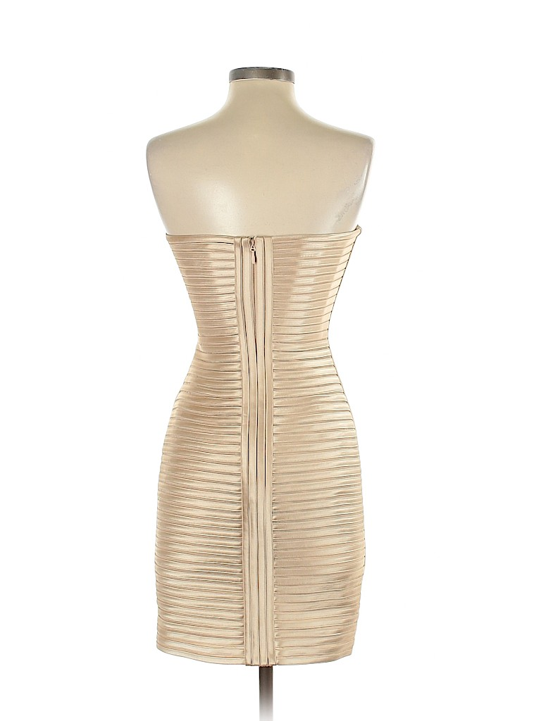 Bcbgmaxazria 100 Polyester Stripes Tan Cocktail Dress Size 2 82 Off Thredup Gowns Dresses Cocktail Dress Women [ 1024 x 768 Pixel ]